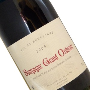 Bourgogne grand ordinaire 2008